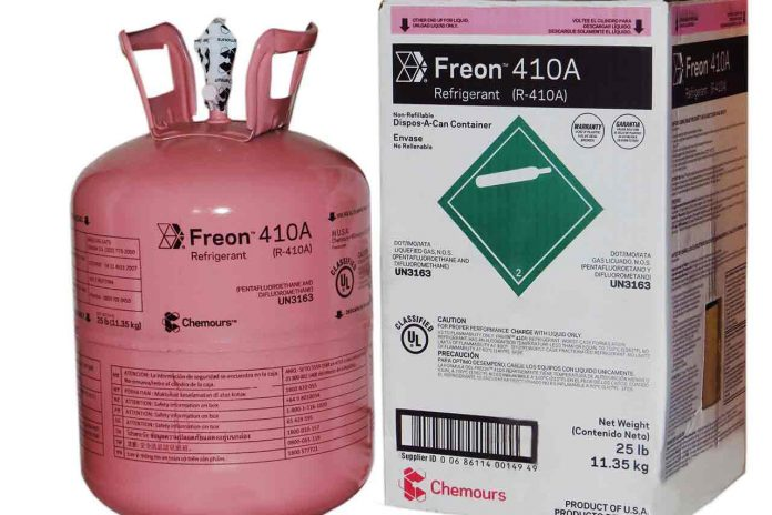 what is the replacement for R22 - cylinder of R-410A refrigerant Puron