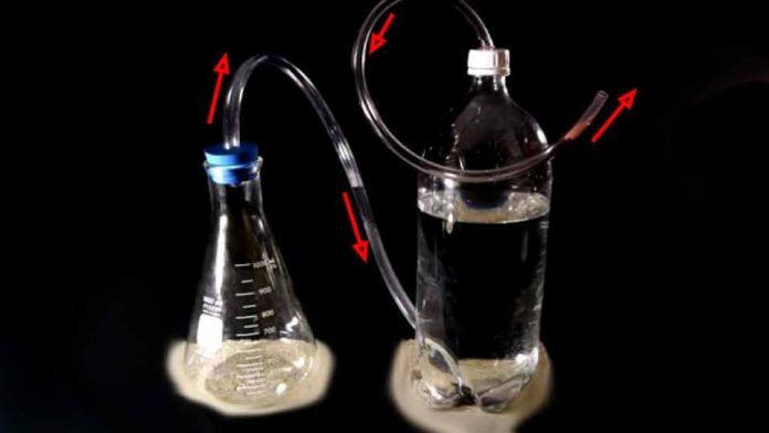 How to separate hydrogen from water without electrolysis
