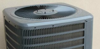 how many BTU air conditioner per square foot
